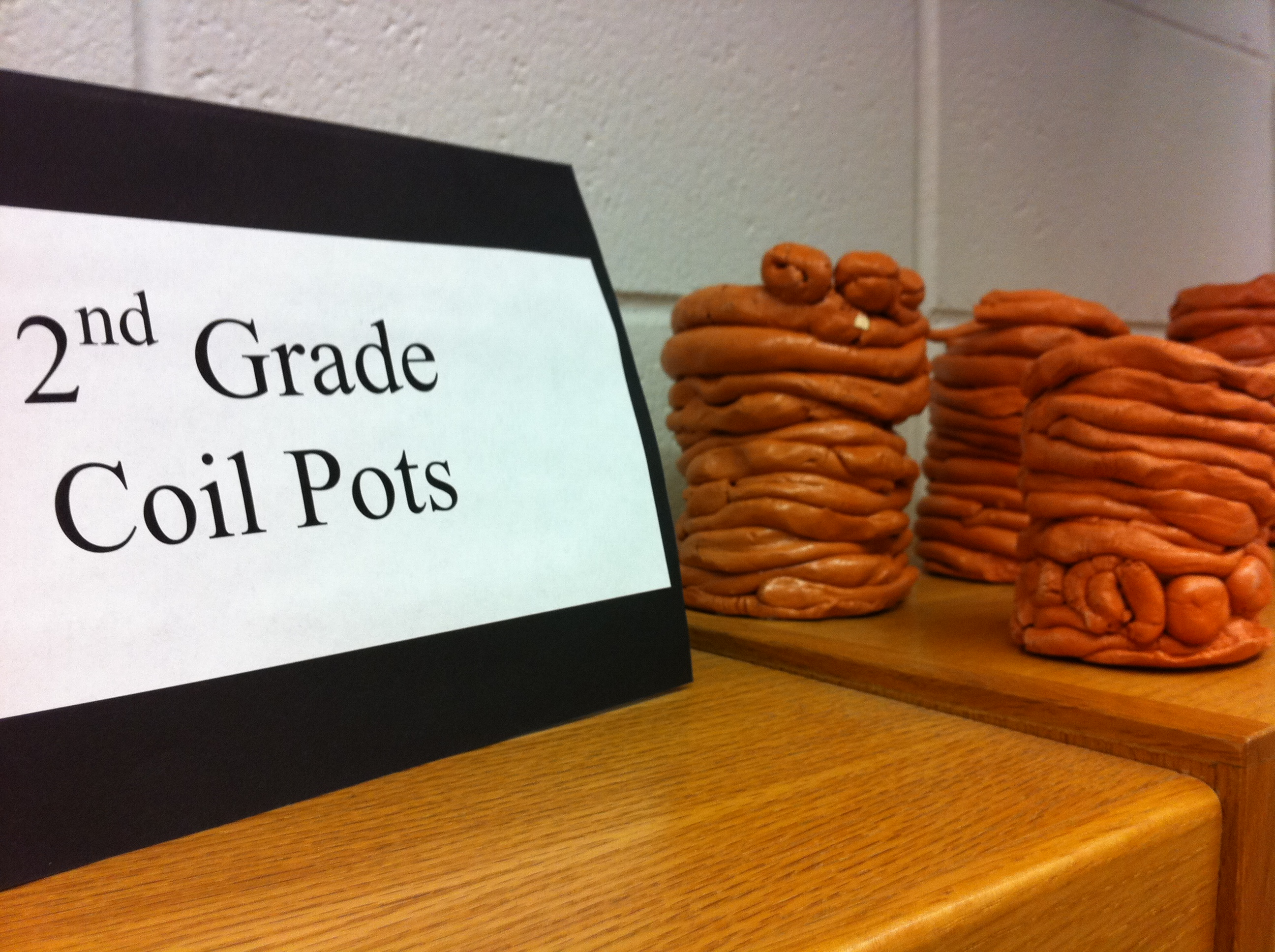 Coil Clay Art Projects