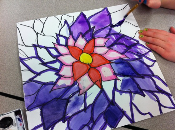 OKeeffe Flowers Get Kids To Draw BIG Free Lesson Plan