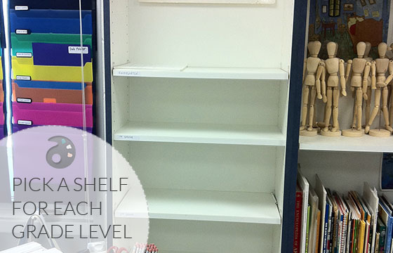 Grade-Level-Shelves