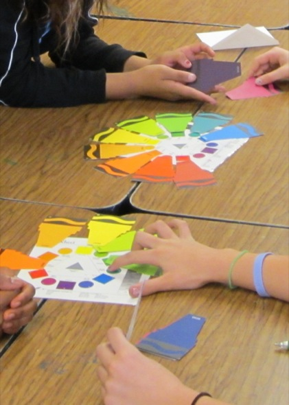 A New Way To Introduce The Color Wheel The Art Of Ed