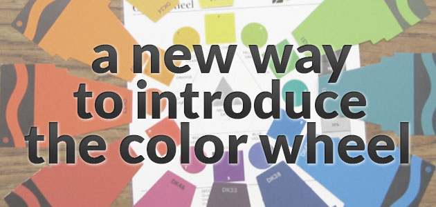 A New Way to Introduce the Color Wheel The Art of Ed – Color Wheel Worksheet