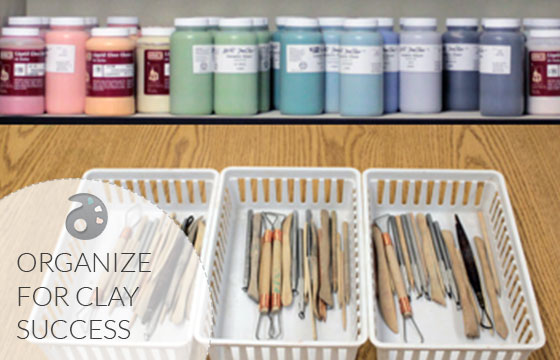 Organize-for-clay-success
