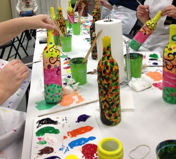 Cookie Cutter Art Classes for Adults