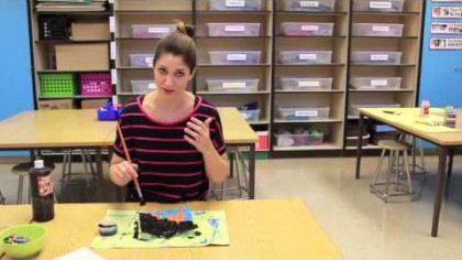 Video: Making a Simple Batik for the Classroom