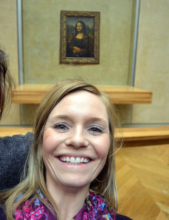 Selfie with Mona Lisa 2 (1)
