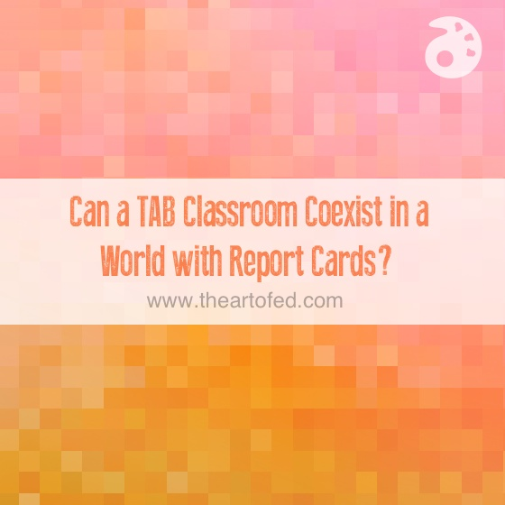 tab coexist with report cards