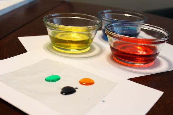 mad scientist color mixing lab