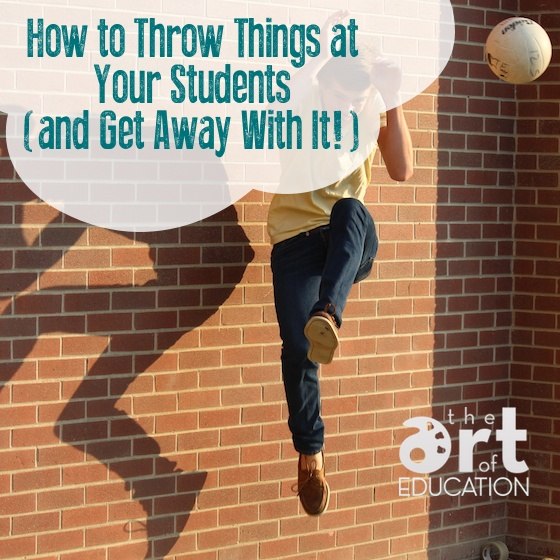 throw things