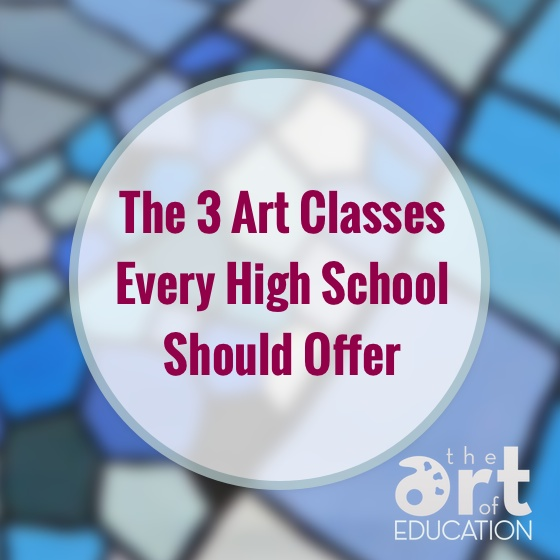 Art Therapy subjects studied in high school