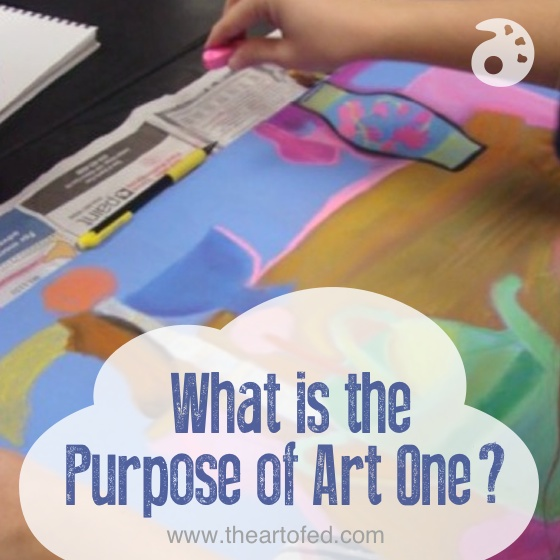 What is the Purpose of Art One?