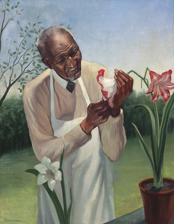 George Washington Carver by Betsy Graves Reyneau, Oil on canvas, 1942 National Portrait Gallery, Smithsonian Institution; gift of the George Washington Carver Memorial Committee to the Smithsonian Institution