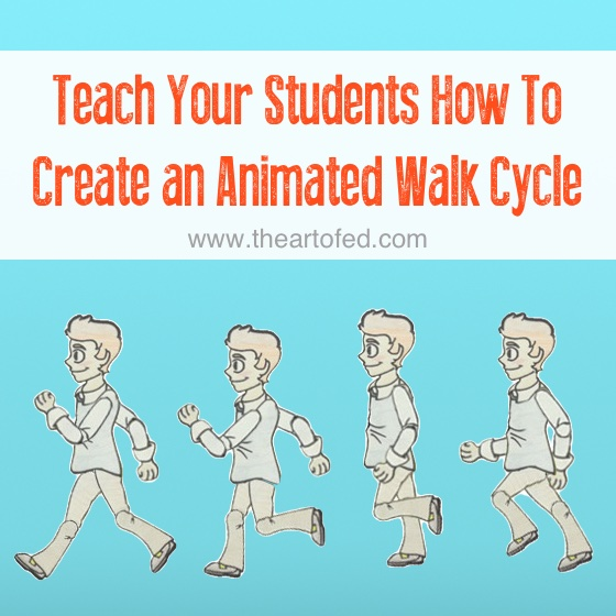 animated walk cycle