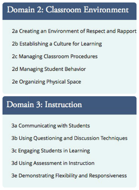 Domains 2 and 3