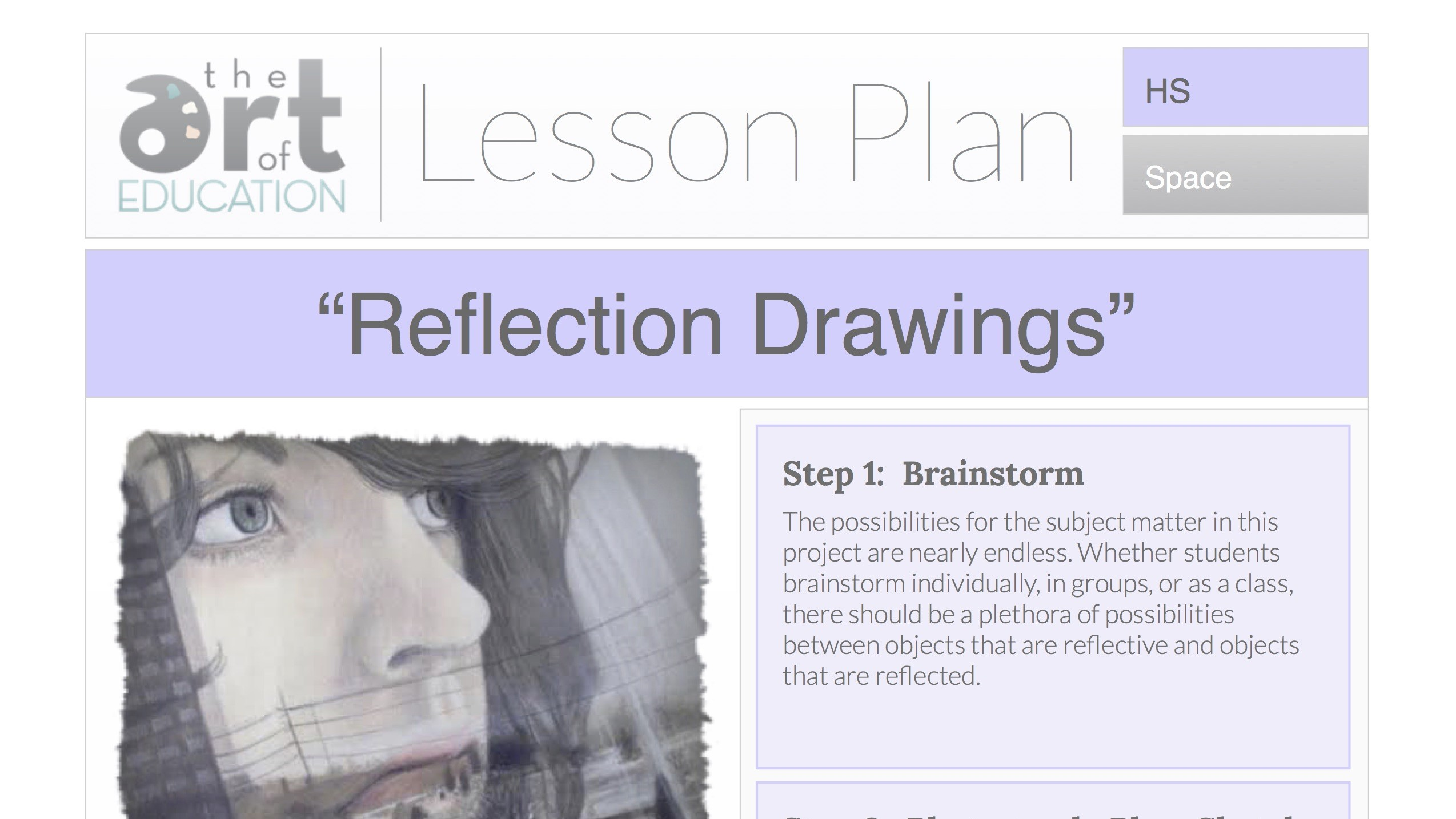 Art Lesson Plans For High School Drawing