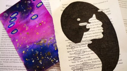 blackout poetry student examples