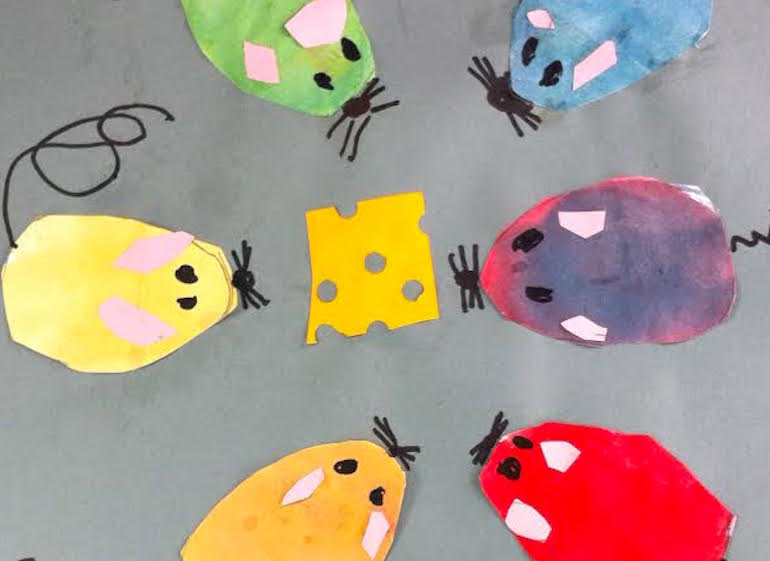 student example- mouse paint color wheel