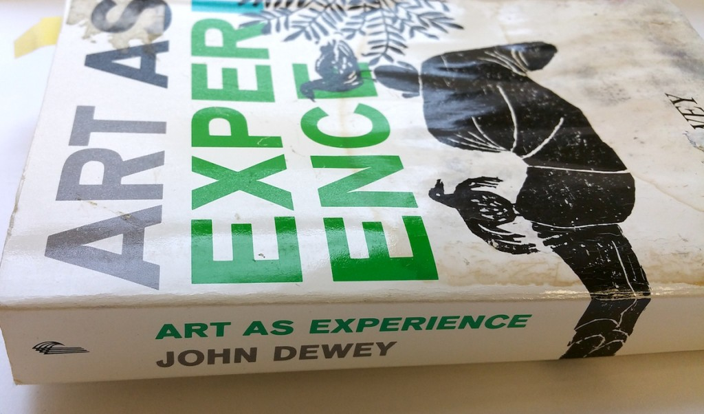 art as experience dewey essay Art as experience (new york: minton,  john dewey and the lessons of art by philip jackson  by john dewey - early essay by john dewey outlining his theory of .
