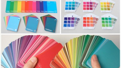 Break Through Colour Cards