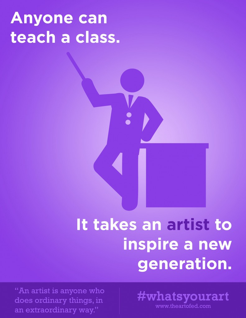 anyone can teach a class