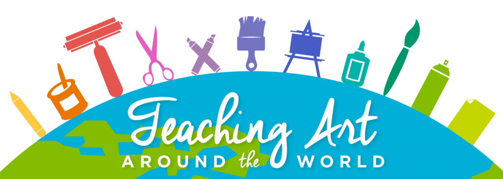 teaching art around the world logo