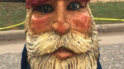 gnome sculpture by Molly