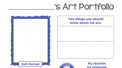 The Perfect Portfolio Cover Sheets for Your K-8 Students