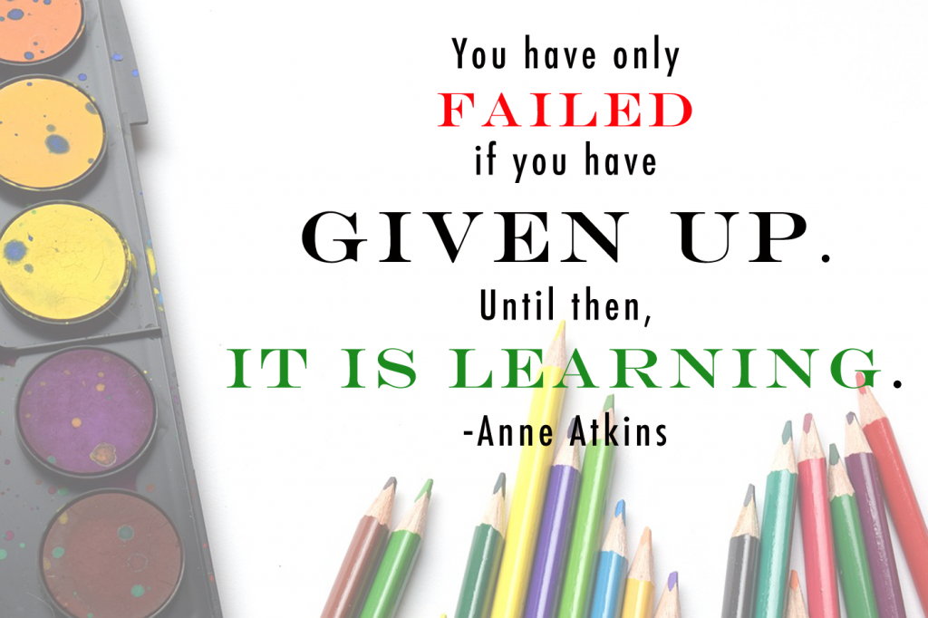 quote about failure