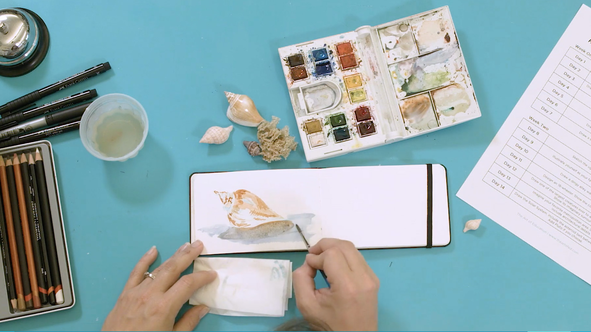Sketchbook Ideas that Really Work