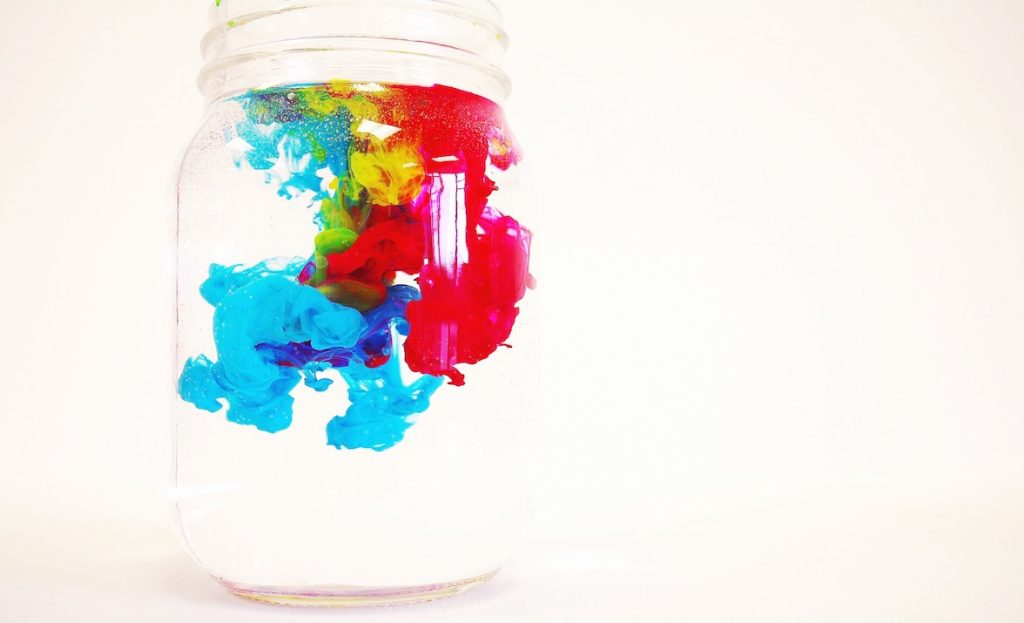 photo of paint