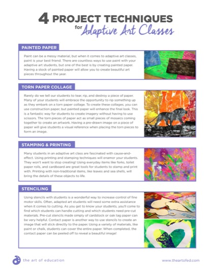 https://theartofeducation.edu/content/uploads/2017/06/4ProjectTechniquesAdaptiveArt-1.pdf