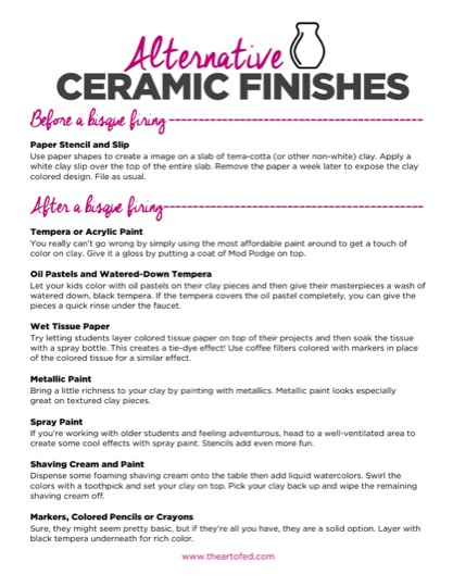 https://theartofeducation.edu/content/uploads/2017/06/Alternative-Ceramic-Finishes.pdf