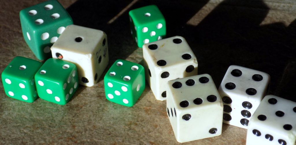 set of dice