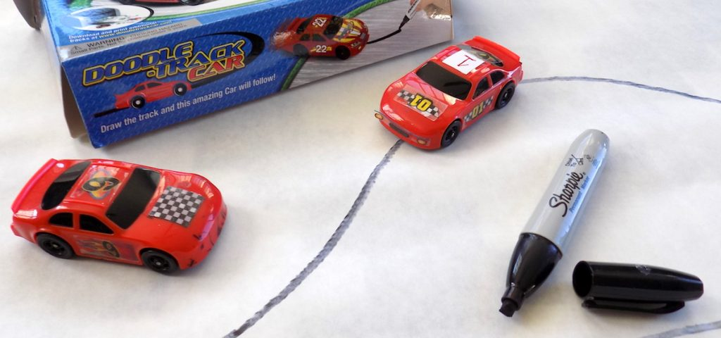 car drawing toy