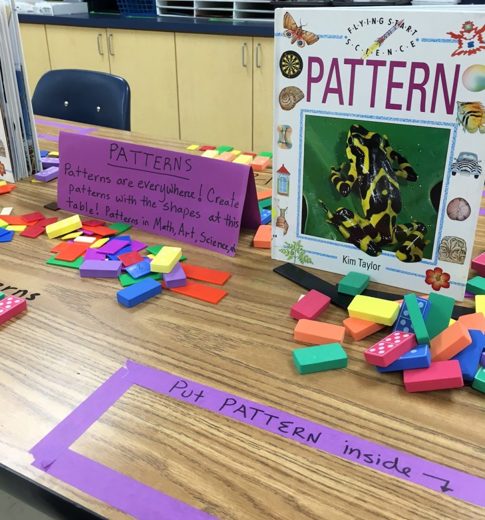 pattern blocks and pattern challenge