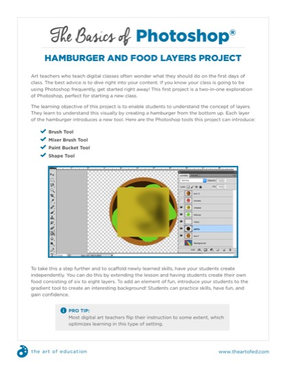 https://theartofeducation.edu/content/uploads/2017/11/15.2HamburgerAndFoodLayersProject.pdf
