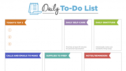 Simple Strategies to Finally Get Your To-Do List DONE
