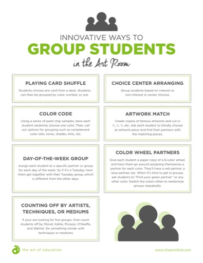 https://theartofeducation.edu/content/uploads/2017/12/InnovativeWaystoGroupStudents.pdf