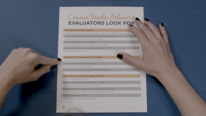 Preparing for Evaluations and Observations