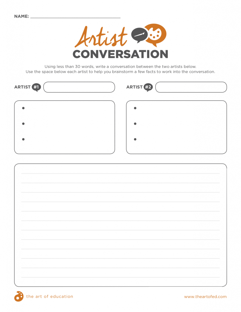 artist conversation download