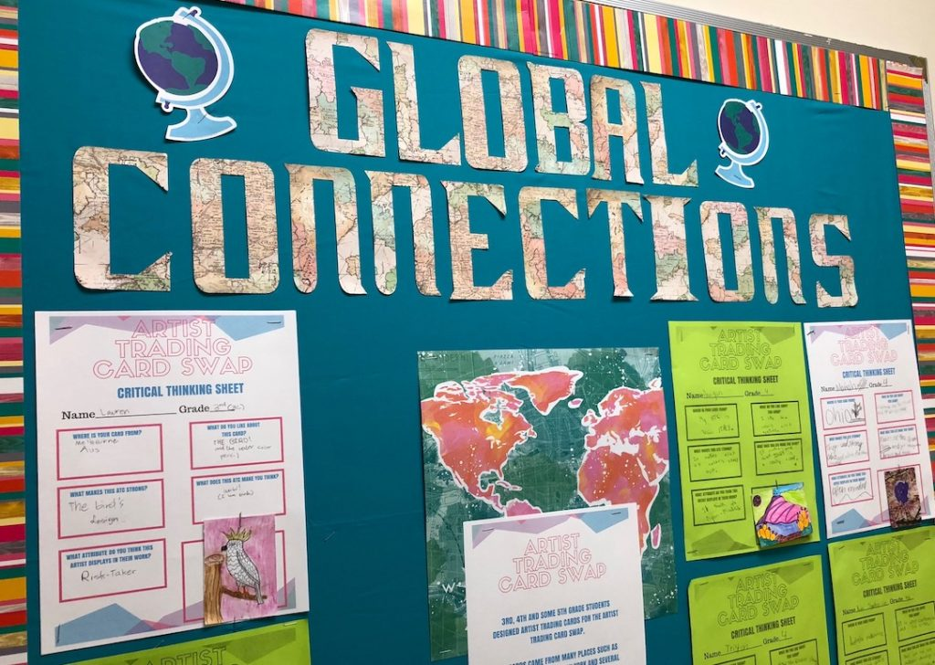 global connections bulletin board