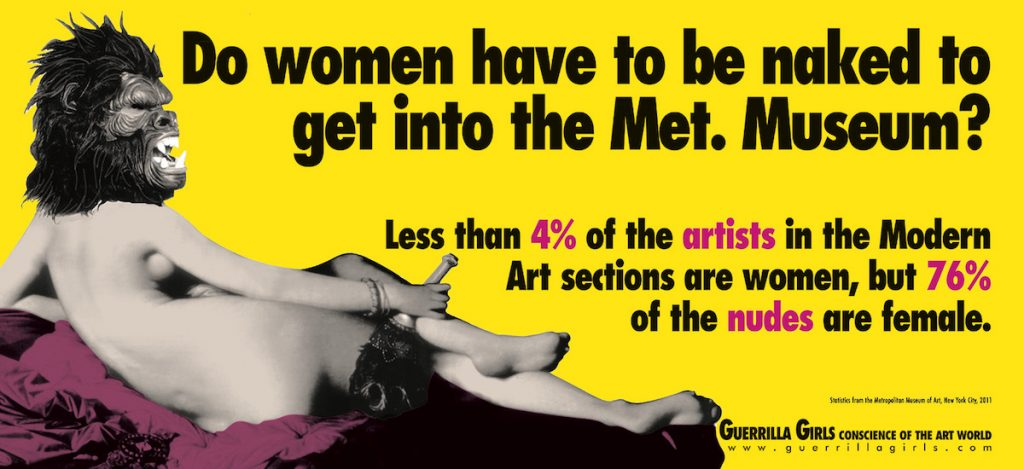 Do Women Have to Be Naked to Get Into the Met. Museum image