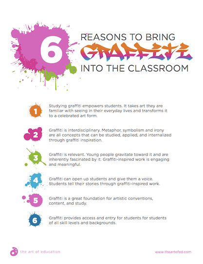 https://theartofeducation.edu/content/uploads/2018/06/26.26ReasonsToBringGraffitiToClassroom.pdf