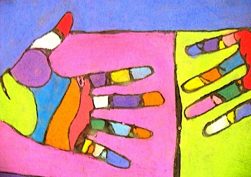 contour hands