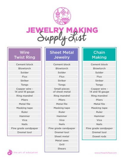https://theartofeducation.edu/content/uploads/2018/06/29.1JewelryMakingSupplyList.pdf