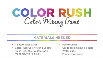 The Best Color Mixing Game to Play With Your Students