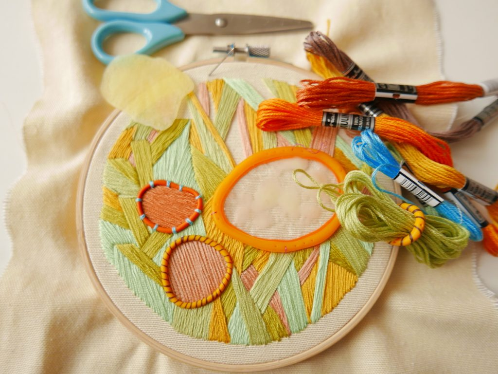 image of embroidery
