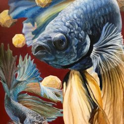 fish painting AP art