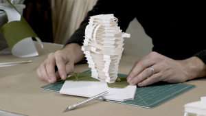 Exploring Architecture Through Paper Sculpture