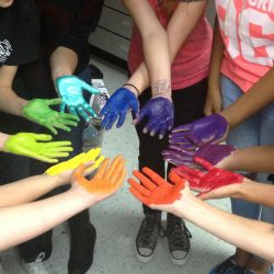 color wheel hands