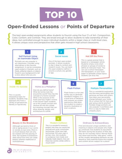 https://theartofeducation.edu/content/uploads/2019/03/40.1Top10OpenEndedLessons.pdf